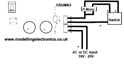 Capacitor Discharge Unit wiring instructions
