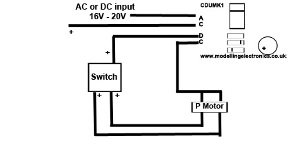 Micro Capacitor Discharge Unit wiring instructions