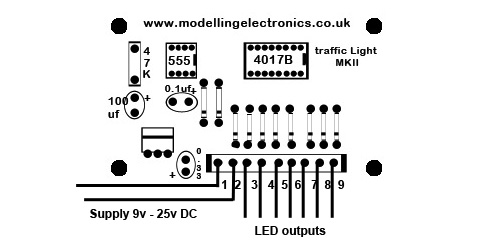 traffic light circuit wiring instructions