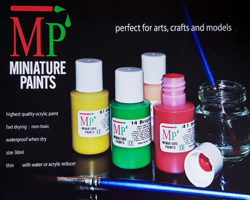 30ml Acrylic Paints