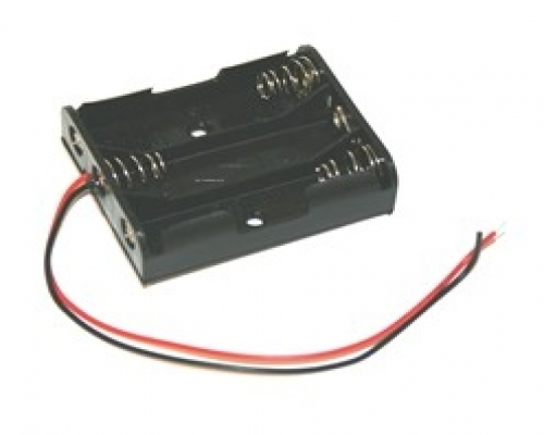 AA Size Battery Holders With Wire Leads