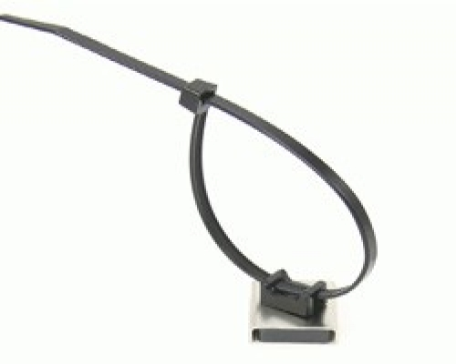 Magnetic Cable Tie Mounts 26 x 23 x 6.3mm thick 6.1kg Pull