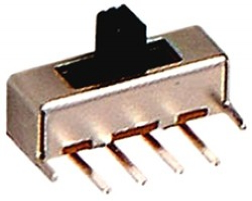 Miniature 3 Position Right Angled Slide switches