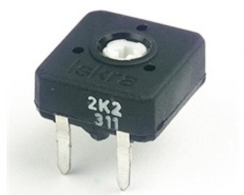 PNZ10Z - Horizontal Enclosed (Slot adjust) Potentiometers